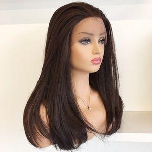 "20"" Dark Brown Lace Front Wig   Amelia"